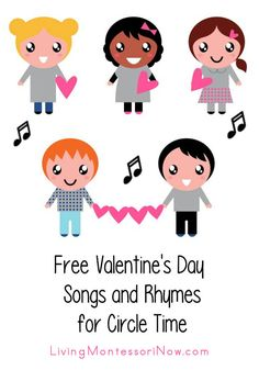 Today, I'm adding lots of sweet Valentine's Day songs and rhymes to my series of free songs and rhymes for circle time. Valentines Day Songs, Valentine Theme, Valentine Day Crafts, Valentine Background, Valentine Ideas, Valentine Heart, Preschool Music, Preschool Themes, Preschool Crafts