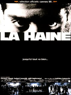 La Haine de M.Kassovitz if you haven't watched a French film before this should be in your top 10 must sees! Midget gem x Film Movie, Cinema Film, Horror Posters, Cinema Posters, Movie Posters, Vincent Cassel, French Movies, Old Movies, La Haine Film