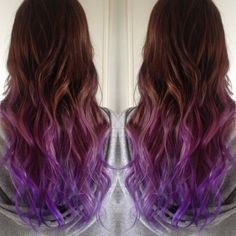 dark lilac hair - Google Search