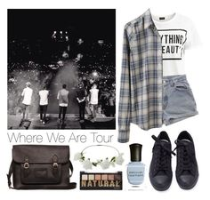 Where We Are Tour by isabellefray on Polyvore featuring polyvore Mode style Steven Alan VILA Converse Miss Selfridge Deborah Lippmann Levi's fashion clothing