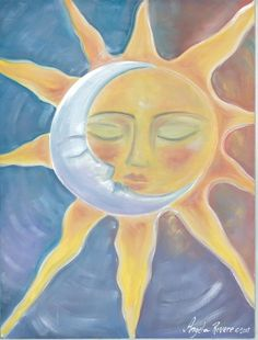 Sun and Moon 'Eternal Love' by BlueSeaPaintShop