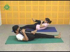 Pawanmuktasana series II or PM 2 is the series of 8 yoga poses namely, Utthanpadasana (Raised Legs Pose), Chakra Padasana (Leg Rotation), Pa...
