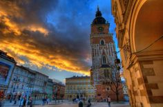 The Krakow Main Market Square in Poland is the biggest – and arguably most beautiful – medieval square in Europe.