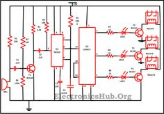 Clap Switch Circuit for Devices This Circuit helps in ON or OFF the device without moving from your place. For more information, visit http://www.electronicshub.org/clap-switch-circuit-for-devices/
