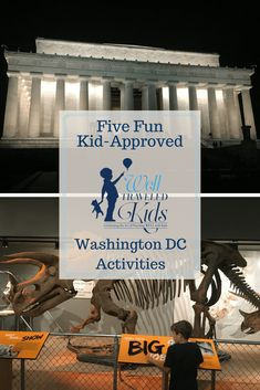Top 5 Favorite Activities in Washington D. C for families with little kids