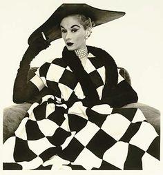 Harlequin Dress by Irving Penn