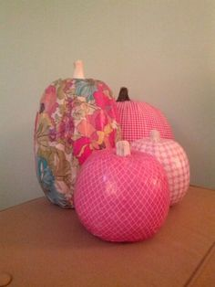 The Pink Pumpkins - mod podge. The Pink Pumpkins - mod podge. The Pink Pumpkins - mod podge. The Pink Pumpkins - mod podge. Pink Halloween, Cute Halloween Costumes, Holidays Halloween, Halloween Pumpkins, Pink Pumpkin Party, Diy Pumpkin, Pumpkin Ideas, Pink Pumpkins, Painted Pumpkins