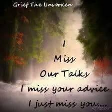 Amma... how much I used to argue and fight when you advice me... but now how I long to hear from you... ammakutty... I am sorry...