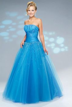 poffy prom dress | Princess prom dresses | Poofy prom dresses | We Heart It