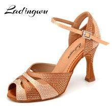 44506f87 22.17 25% de DESCUENTO|Envío Gratis marca nueva de baile de Tango latín  zapatos de baile de tacón promoción de venta baile Zapatos Sandalias en  Zapatillas ...