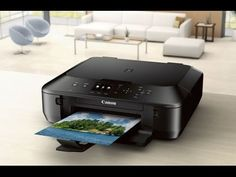 Canon PIXMA MG5520 Wireless All-In-One Color Photo Printer with Scanner, Black (Tablet Ready)