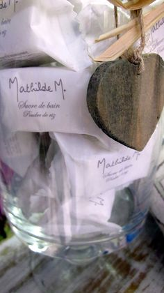 Bombitas Mathilde M. Place Cards, Shabby, Place Card Holders, Bath Bombs