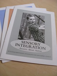 OT Cafe: Parent and Teacher Friendly Resources on Sensory Integration