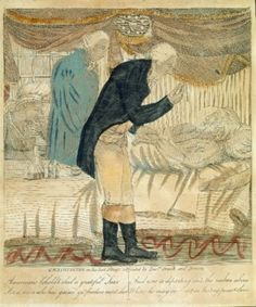 Death Defied: Dr. Thornton's Radical Idea of Bringing George Washington Back to Life. G. Washington in his Last Illness, 1800 by Unknown Artist (Mount Vernon Ladies' Association)