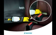 Isofix is the best way to fit a car seat correctly. Maxi cosi use lights and sounds to give you peace of mind.
