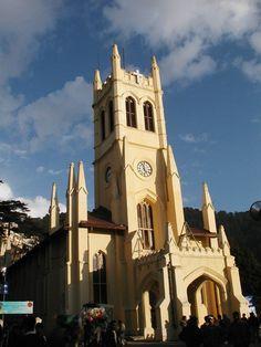Amazing Christ Church,Shimla India | Read More Info