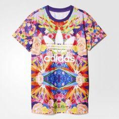 www.tweeninstyle.com Adidas t-shirt for tween girls