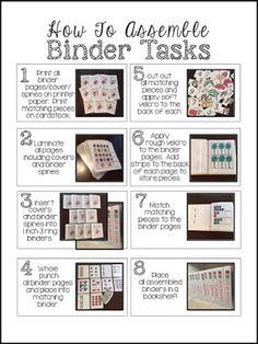December Independent Binder Work System
