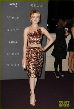 Evan Rachel Wood in Gucci, LACMA Art + Film Gala, 2012.