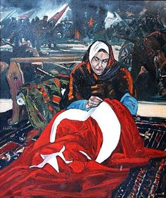 They are always war hero. Sometimes helped to army. Sometimes they been army ! Turkish Soldiers, Tattoo Project, Western World, Photo Logo, Girl Swag, Army, Flag, Hero, Painting