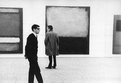 Mark Rothko's first UK solo show at London's Whitechapel Gallery, 1961.
