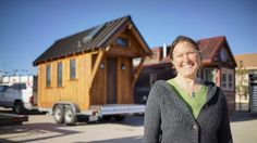 In this article, a traveling tiny home meets up with Tiny House Giant Journey for a video tour.