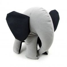 Seemingly good-tempered elephant by Simply Made. It's difficult to list his characteristic features because he doesn't flaunt them much. :) #elephant #gift #handmade €18,30