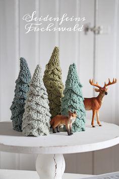Crochet Home Decor, Crochet Patterns, Christmas Ornaments, Holiday Decor, Dekoblog, Crafts, Diy, Crochet Christmas, Tricot