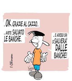 #IoSeguoItalianComics #Satira #Politica #BancheItaliane #Banche