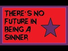 There's No Future in Being a Sinner - Noahide Sarcasm