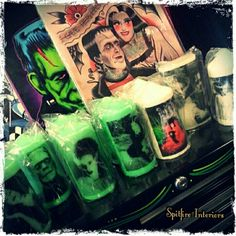 Candles & prints available in store.. Spitfire Interiors, Whittier California..