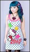 Cute Hello Kitty Dress