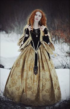 Hoop skirts and corsets