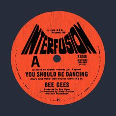 Shop INTERFUSION disco t-shirts designed by as well as other disco merchandise at TeePublic. You Should Be Dancing, Cd Packaging, Cd Design, Retro Graphic Design, Music Album Covers, Vinyl Labels, Vintage Records, Poster Wall, Logo Inspiration