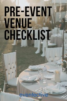 Before you book the venue, do the research. Skipping these important steps can result in day-of disasters! Party Venues, Event Venues, Catering Services, Table Arrangements, When You Can, For Your Party, Layout Design, Confetti, Party Planning