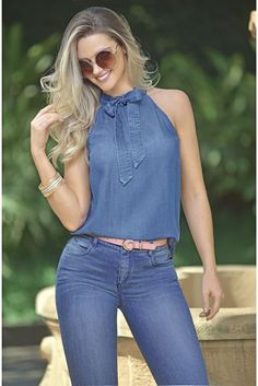 30 Cute Spring Outfit Ideas That You Will Love - Outfits Women Denim Fashion, Look Fashion, Fashion Models, Womens Fashion, 90s Fashion, Spring Fashion, Casual Jeans, Casual Chic, Casual Outfits