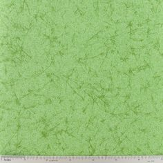 Light Green Crackled Cotton Calico Fabric