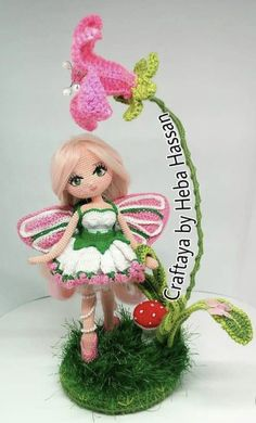 Crochet Fairy, Crochet Dolls, Play Clothing, Cos Play, Movie Collection, Diy Toys, Charts, Nova, Crochet Patterns