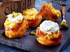 Bauernfrühstück-Cupcakes Rezept | LECKER