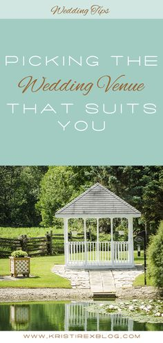 Picking the Wedding Venue that Suits You - Kristi Rex Photography