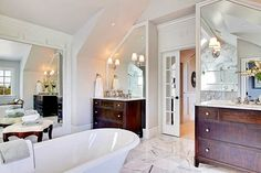 A master bath I designed.