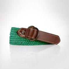 Rope D-Ring Belt - Polo Ralph Lauren Belts & Braces - RalphLauren.com