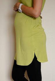 Merrick's Art // Style + Sewing for the Everyday Girl: Side Tulip Hemline Tunic (Tutorial)
