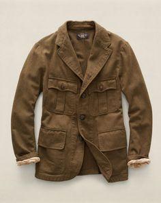 Cotton Edward Sport Coat - RRL Cloth - RalphLauren.com