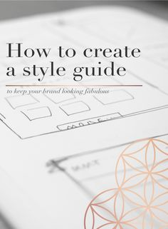 How To Create A Style Guide For Your Brand — JuJu Creative Hub