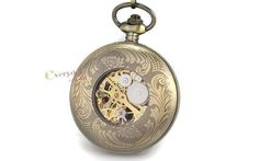 Reloj De Bolsillo A Cuerda Maquina A La Vista Nuevo  300 ml ar