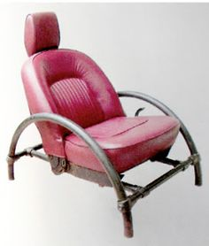 #DIY #Recycle #up-cycle #Design car seat into Chair