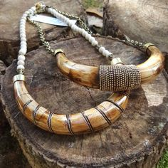 We are SWOONING over our NEW horns. Fab statement pieces.