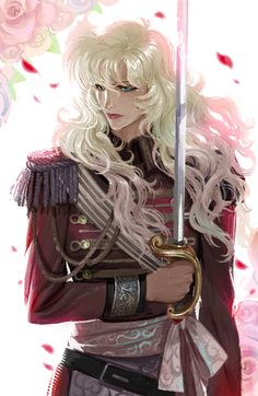 Rose of Versailles - Lady Oscar by Ami Thompson Curated by Edric Artist! Anime Love, Anime Guys, Manga Art, Manga Anime, Photo Manga, Lady Oscar, Female Knight, Lady Knight, Animation