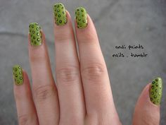 Nails, this would be cool with different colors